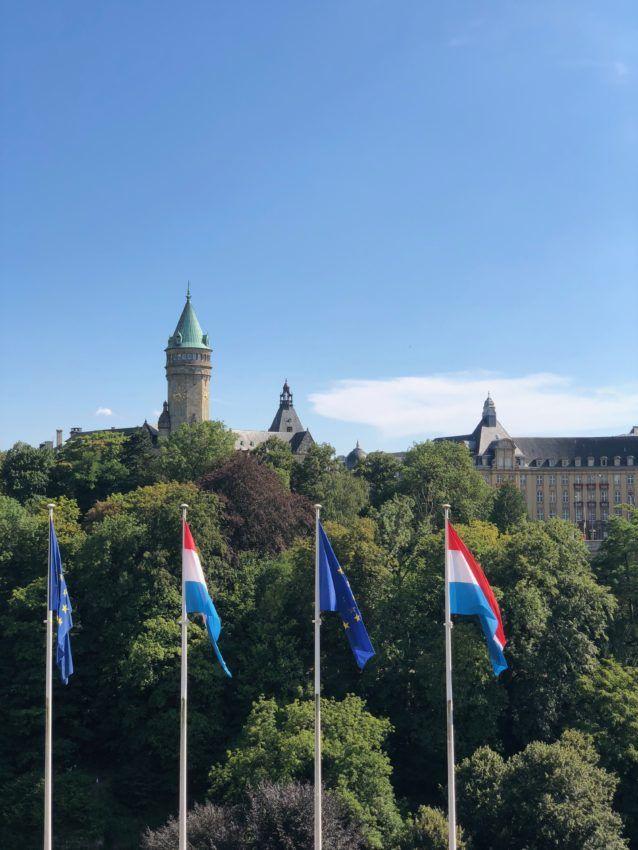 Luxemburg Fahnen