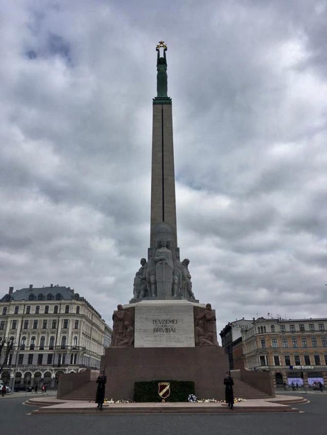 Freiheitsdenkmal in Lettland