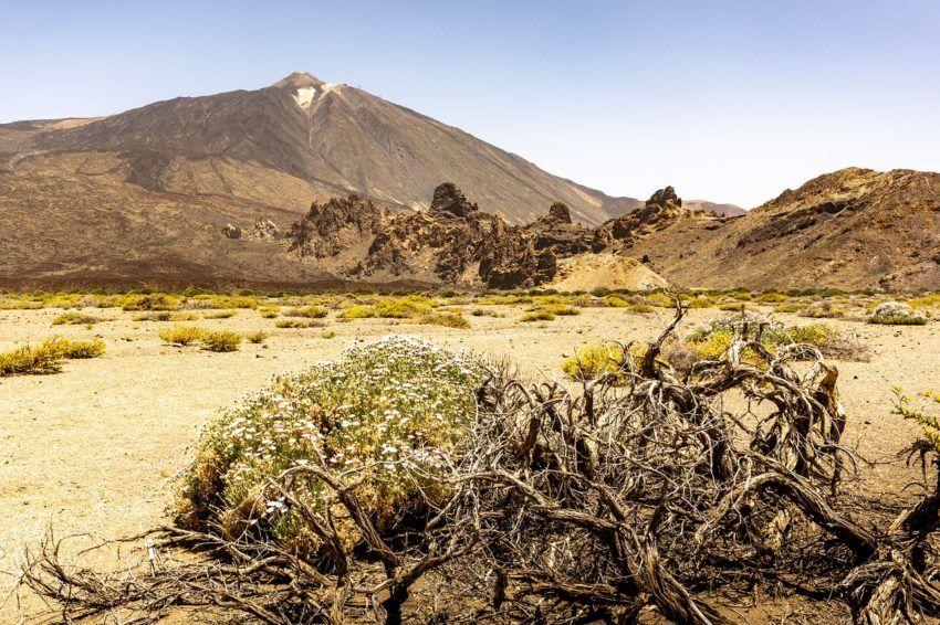 Vulkan auf den kanarischen Inseln