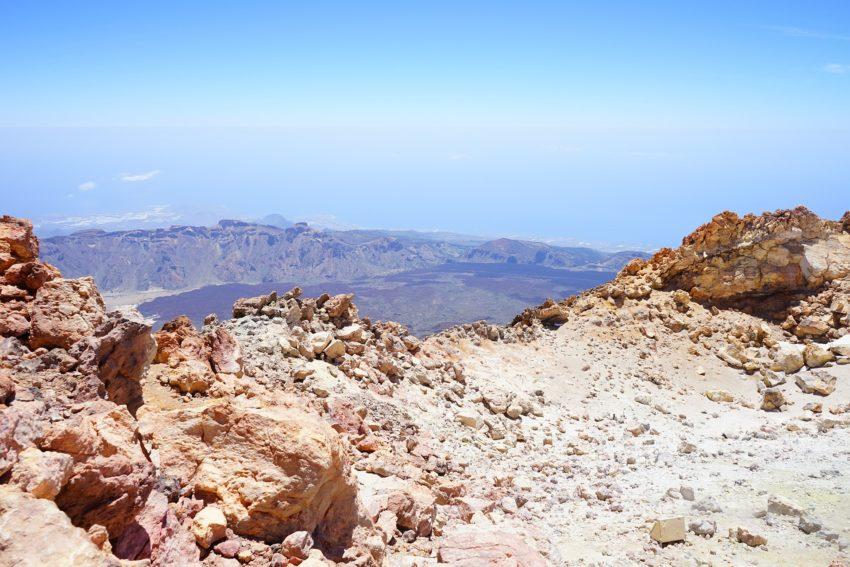 Aussicht vom höchsten Punkt Spaniens