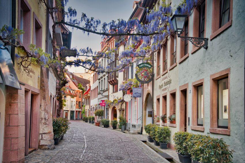 Altstadt Gasse Freiburg