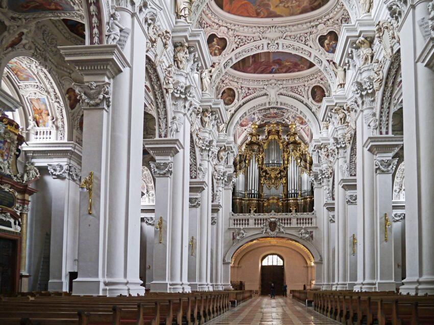 Innenraum im Passauer Dom