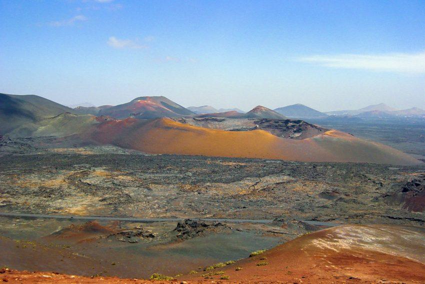 Nationalpark Timfanaya Landschaftsbild