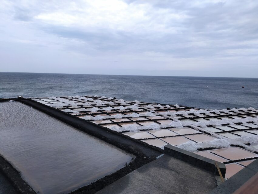 Salzgewinnung am Faro de Fuencaliente