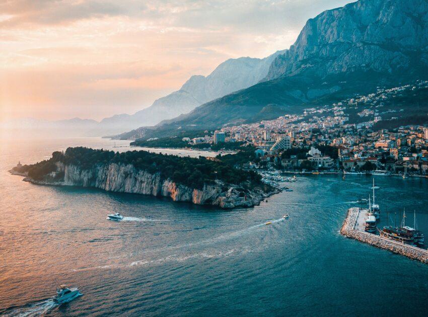Bild von der Küste Kroatiens