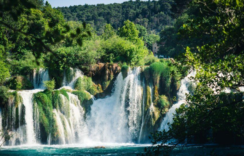 Nationalpark Krka in Kroatien
