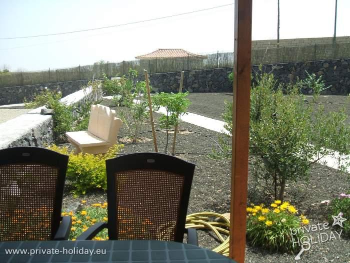 Apartment auf einer finca in villa de arico mit pool for Garten pool nrw