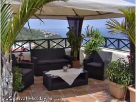 Gemütliche Ferienwohnung im Norden von Teneriffa mit Meerblick