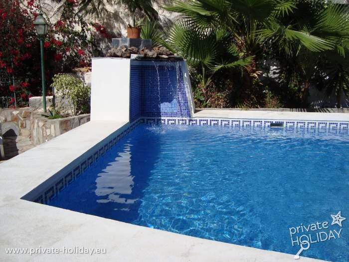 bungalow in strandlage in playa san marcos mit pool. Black Bedroom Furniture Sets. Home Design Ideas