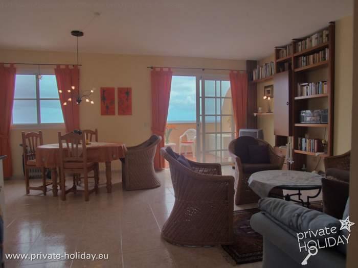 fewo mit zwei terrassen direkt am strand bei garachico. Black Bedroom Furniture Sets. Home Design Ideas