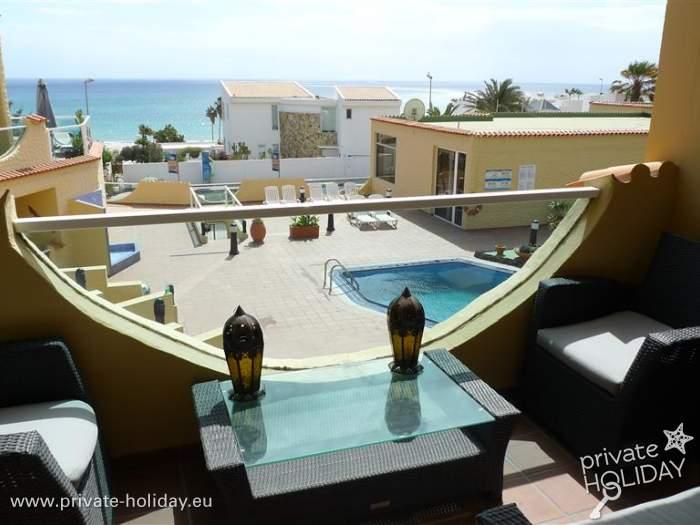 strandwohnung in costa calma mit zwei schlafzimmern. Black Bedroom Furniture Sets. Home Design Ideas