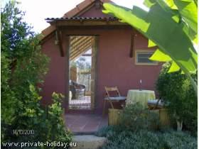 Studio mit Terrasse in Guía de Isora oberhalb Los Gigantes