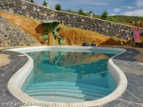 Studio auf einer Finca im Südwesten mit Pool und Terrasse