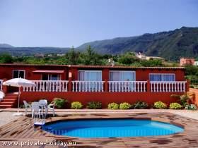 Apartment auf einer Finca bei Los Realejos im grünen Norden