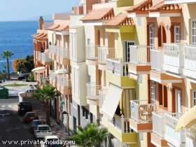 Apartment mit Südbalkon nah am Strand von Playa San Juan