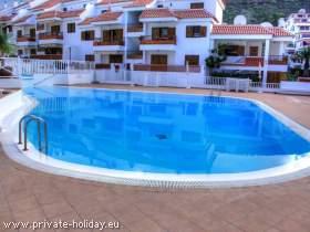 Apartment mit Terrasse und Pool in Los Cristianos in Strandnähe