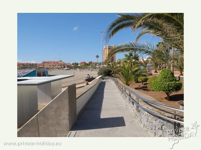 Wohnen Direkt Am Strand Ferienstudio In Los Cristianos