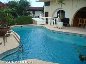 Ferienwohnung mit beheizbaren Pool und Meerblick bei El Medano