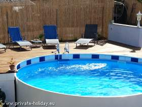 Studio mit Terrasse & Pool in Guía de Isora bei Los Gigantes