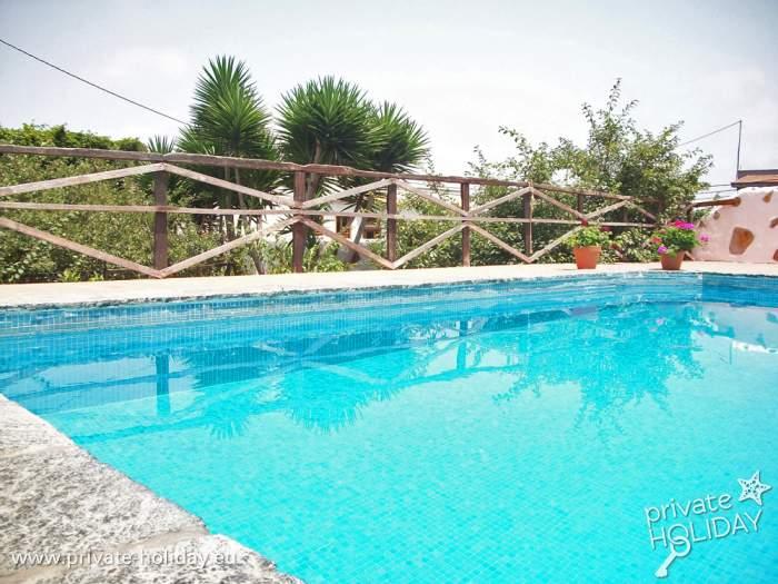 Ferienwohnung mit pool und garten in icod de los vinos for Garten pool nrw