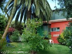 Schönes Studio in La Orotava-Teneriffa mit Terrasse und Garten