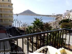 Apartment mit Meerblick und Balkon im Süden von Teneriffa