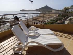 Reihenhaus in El Médano im Süden Teneriffas direkt am Strand