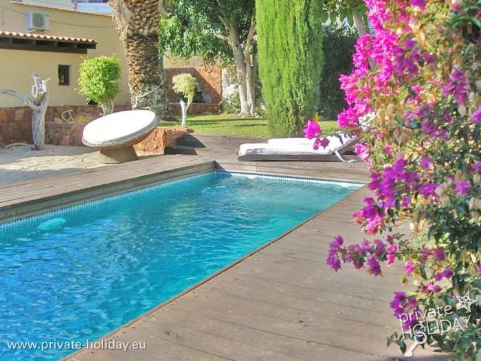 Haus mit terrasse garten grillm glichkeit und pool for Garten pool nrw