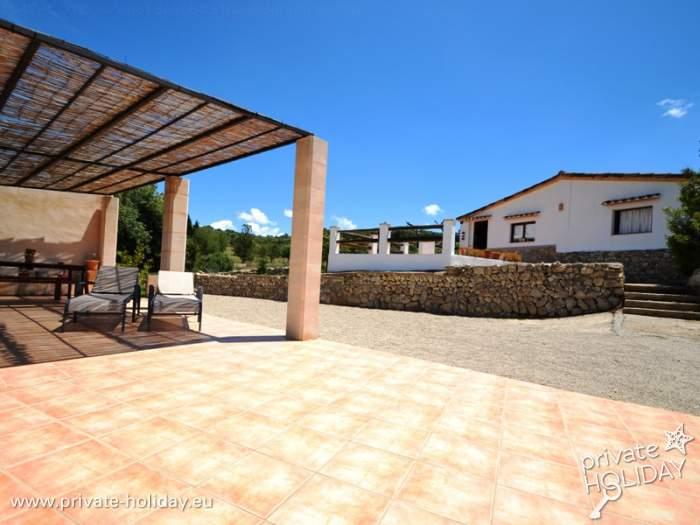 Finca ferienhaus mit pool und riesen terrasse - Formentera ferienhaus mit pool ...