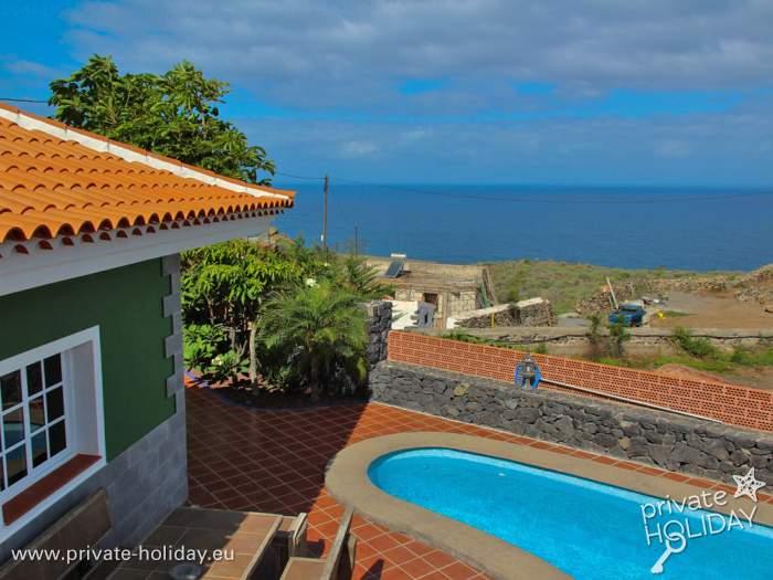 Ferienhaus in teneriffa nord mit privatpool und terrasse for Ferienhaus mit privatpool
