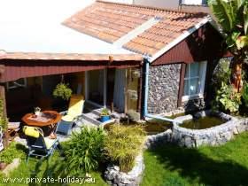 Studio auf einer Finca mit Garten & Dachterrasse in El Tanque