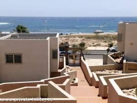 Haus am Strand von El Medano auf Teneriffa - Süd mit Terrassen