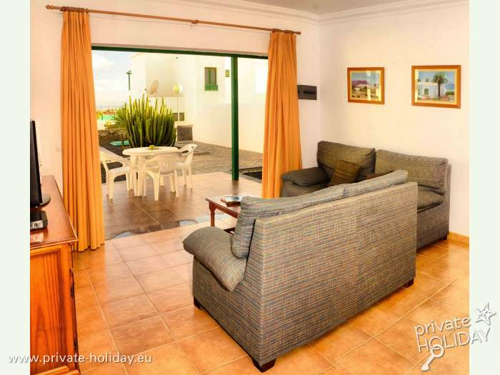 Sch ne ferienhaus mit privatpool in playa blanca for Ferienhaus mit privatpool