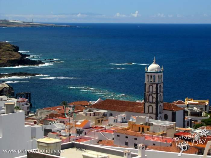 Ferienwohnung In Garachico Mit Dachterrasse Und Meerblick