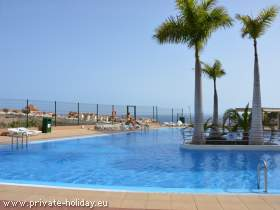 Teneriffa Fewo mit Pool am Meer