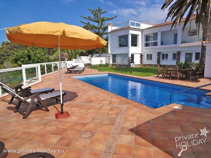 Ferienhaus mit privatpool panoramablick santa ursula for Ferienhaus mit privatpool