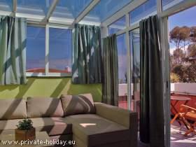Ferienhaus mit traumhaftem Meerblick und Garten in Santa Ursula