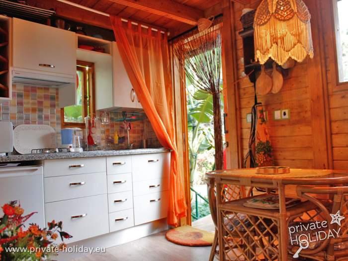 Kleines Holzhaus mit Garten in ruhiger und zentraler Lage