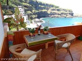 Studio mit Balkon am Strand von San Marcos - Icod de los Vinos