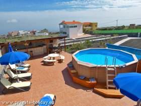 Zwei Wohnungen auf einer Finca in Villa de Arico mit Pool