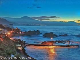 Ferienwohnung mit Meerblick in El Pris im Norden von Teneriffa