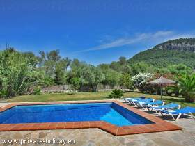 Ferienhaus in Pollensa & Pool