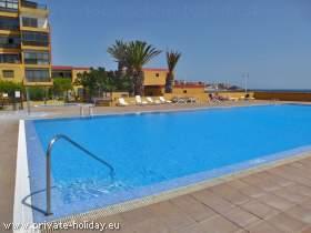 Ferienwohnung mit Pool und Balkon in Poris de Abona-Teneriffa