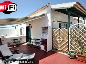 Strandnahe Ferienwohnung mit zwei Terrassen in Teneriffa-Süd