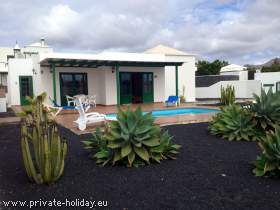Villa mit Pool in Playa Blanca
