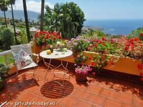Kleines Haus auf der Finca mit Dachterrasse, Garten und Grill