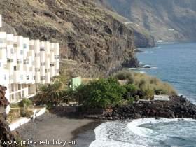 Wohnung für 2 Personen mit Privatstrand im Süden von Teneriffa