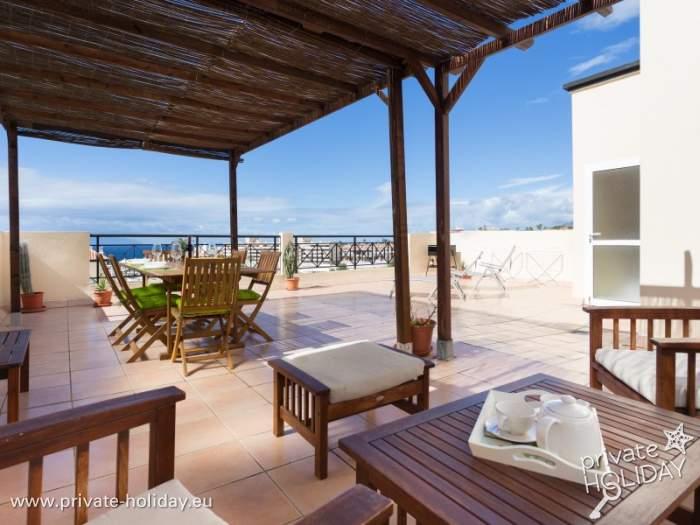 penthouse mit gro er terrasse und meerblick im s dwesten. Black Bedroom Furniture Sets. Home Design Ideas