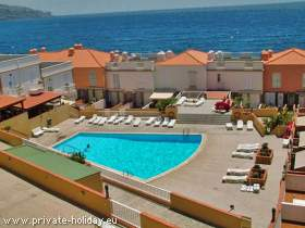 Apartment mit Pool in Candelaria