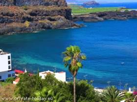 Moderne Ferienwohnung mit Traumblick auf die San Marcos Bucht